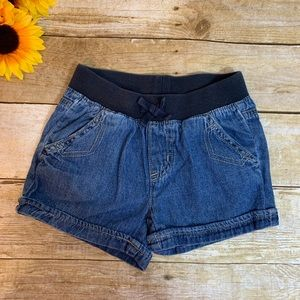 Girls denim shorts by Children's Place. Size 5